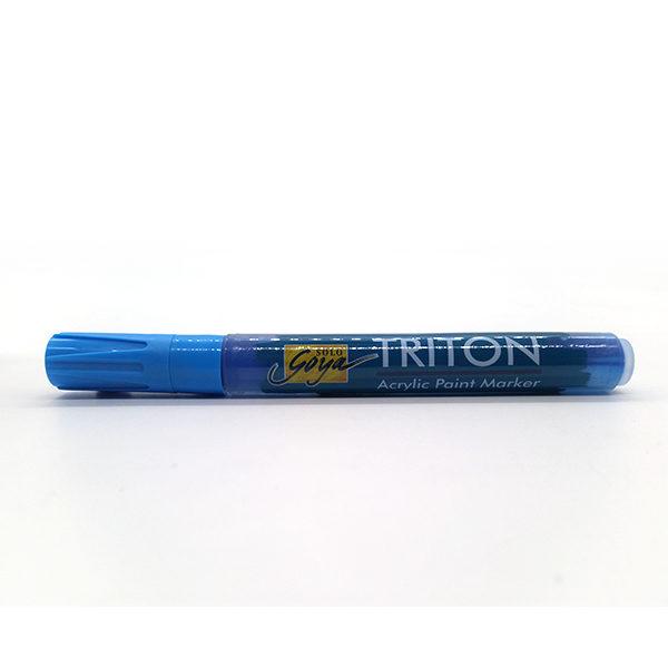 Triton-Acrylic-Paint-Marker-Light-Blue-Colour