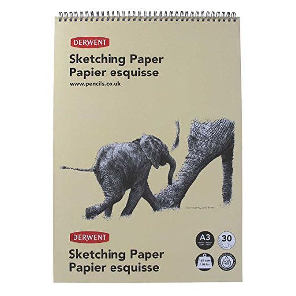 derwent-A3-sketching-paper-elephant