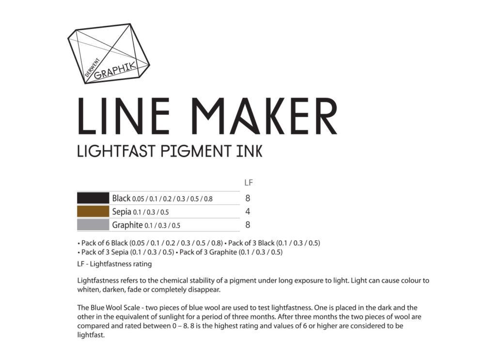 derwent-graphik-line-maker-colour-chart