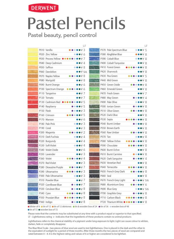 derwent-pastel-pencils-colour-chart