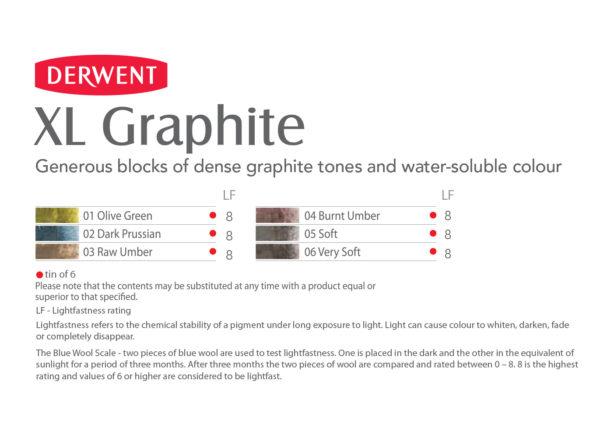 derwent-xl-graphite-colour-chart