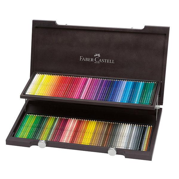 Polychromos – 120 wooden set – Faber-Castell
