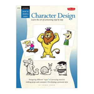 walter-foster-how-to-draw-&-paint-character-design