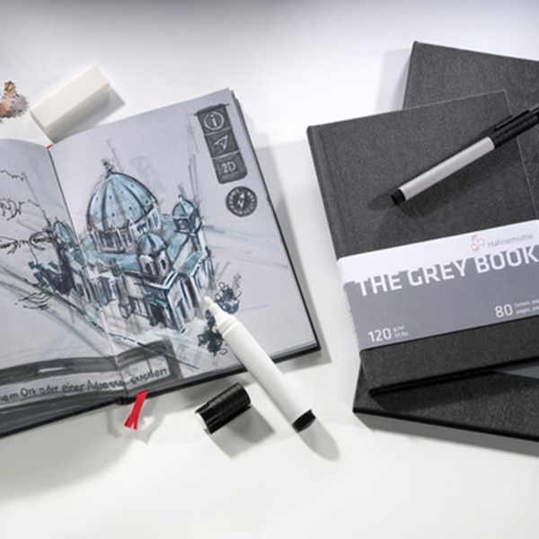 Hahnemuhle-The-Grey-Book-with-sketch-done-inside-it