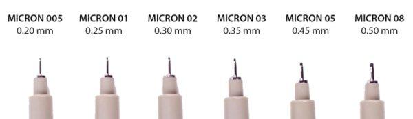 sakura-pigma-micron-nib-sizes