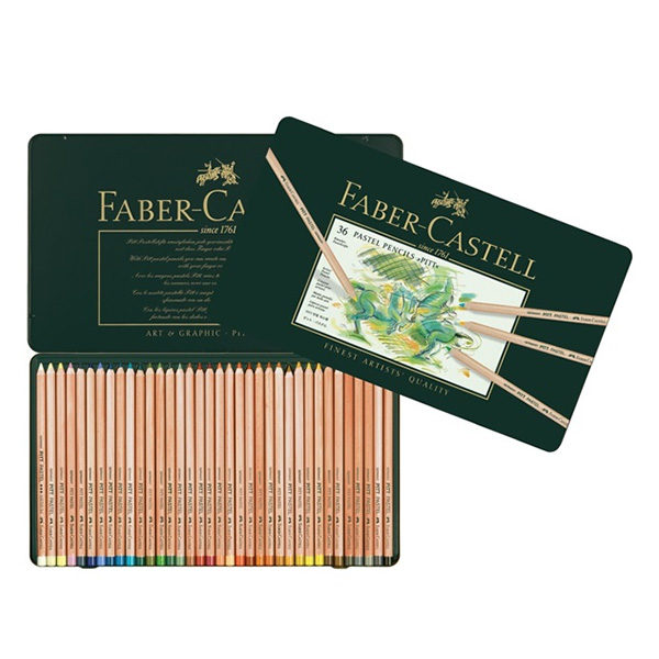 faber-castell-Color-pencil-Pitt-Pastel-tin-of-12-open