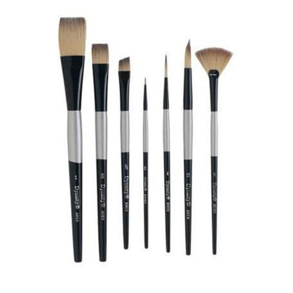 Dynasty-Series-4900-Silver-Black-Brushes