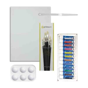 Prime-Art-Acrylic Starter Set-1