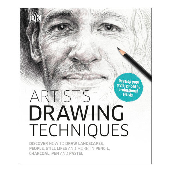 Artists-Drawing-Techniques-DK-Books