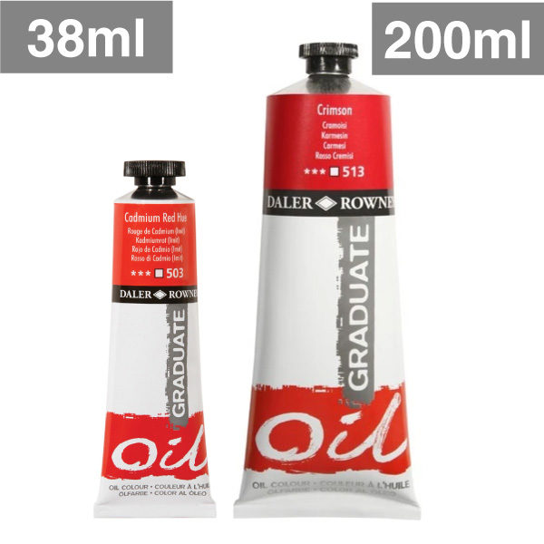 Daler-Rowney-Graduate-Oil-Paints-38ml-and-200ml-tube