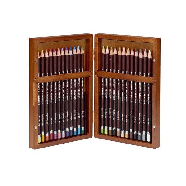 Derwent-Coloursoft-Wooden-Box-24-Set-Pencils