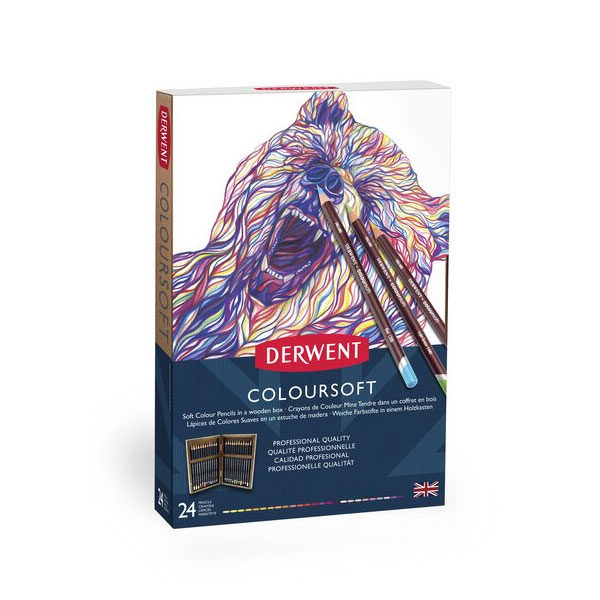 Derwent-Coloursoft-Wooden-Box-24-Set-front