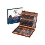 Derwent-Sketching-Wooden-Box-Set-48-piece-New-Design