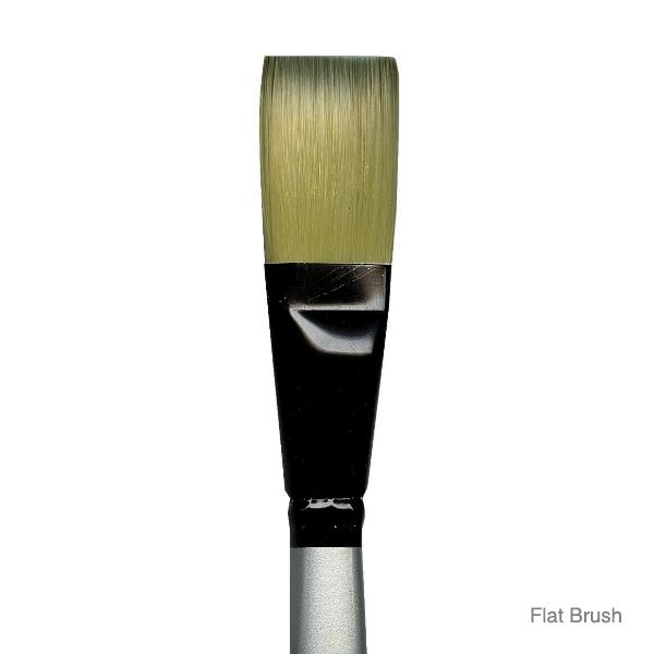 Dynasty-Series-4900-Silver-Black-Flat-Brush