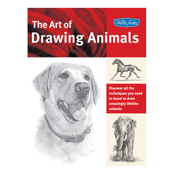 walter-foster-the-art-of-drawing-animals-book