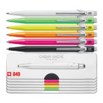 849-Popline-Ballpoint-Pen-with-Holder-CarandAche-all-Colors
