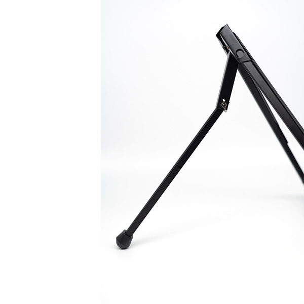 Black-Aluminium-Table-Easel-Rear-supporting-arm