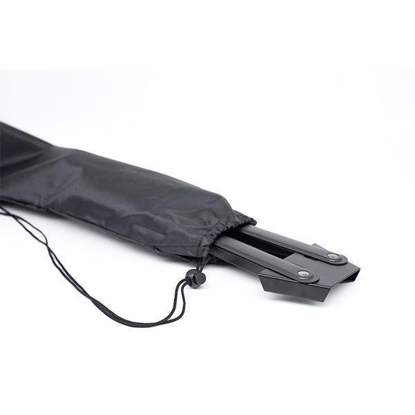 Black-Aluminium-Table-Easel-folded-in-nylon-bag