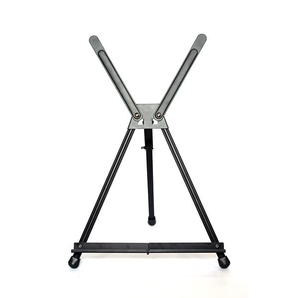 Black-Aluminium-Table-Easel-front-view