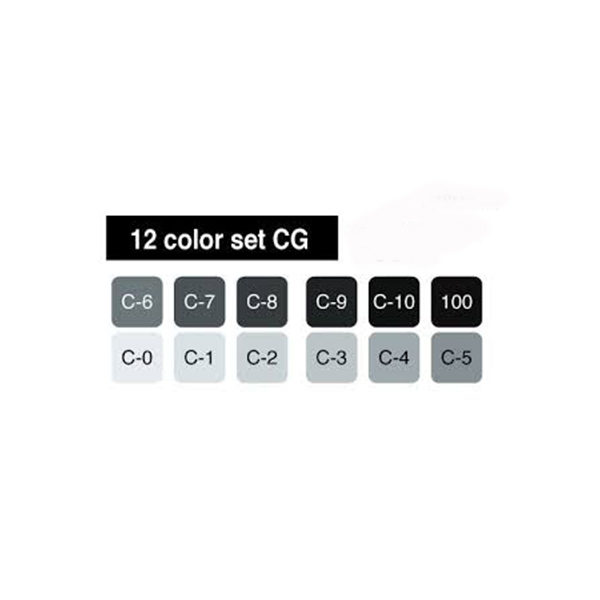 Cool-Grey-Sketch-Markers-set-of-12-Copic-Colour-Chart
