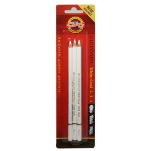 Gioconda-White-Charcoal-set-of-3-Koh-i-noor-Front