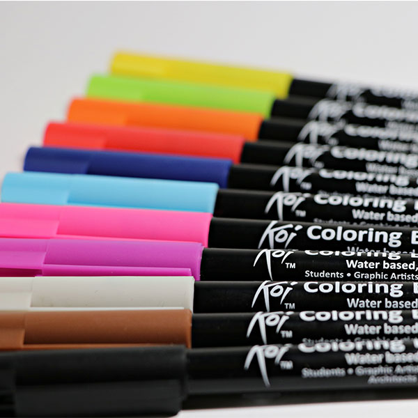 Colouring Brush Pens Singles - Sakura Koi - Array - Art Savings Club ...