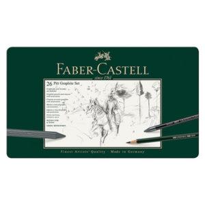 Pitt-Graphite-set-of-26---Faber-Castell
