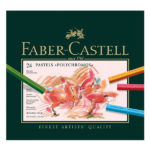 Polychromos-Pastel-Set-of-24---Faber-Castell-Front