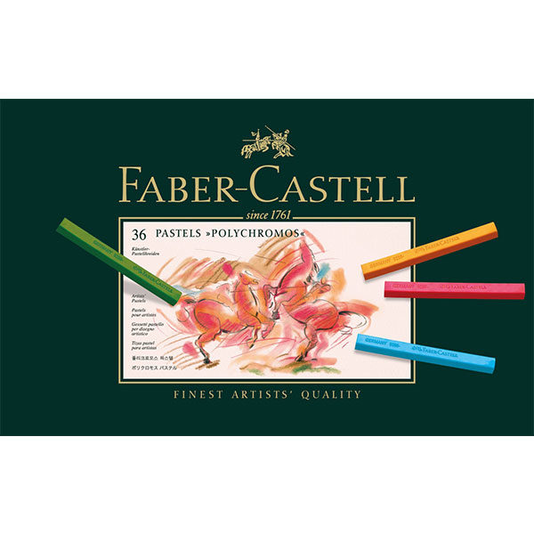 Polychromos-Pastel-Set-of-36---Faber-Castell-Front