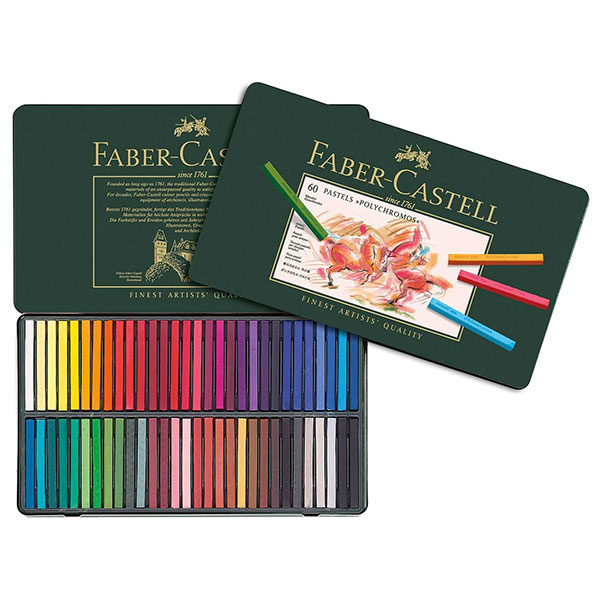 Polychromos-Pastel-Set-of-60-Faber-Castell-Fron-Side