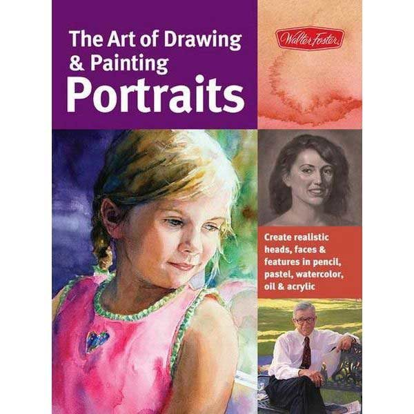 The-Art-of-Drawing-&-Painting-Portraits---Walter-Foster