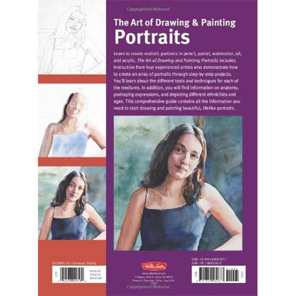 The-Art-of-Drawing-&-Painting-Portraits---Walter-Foster-Back