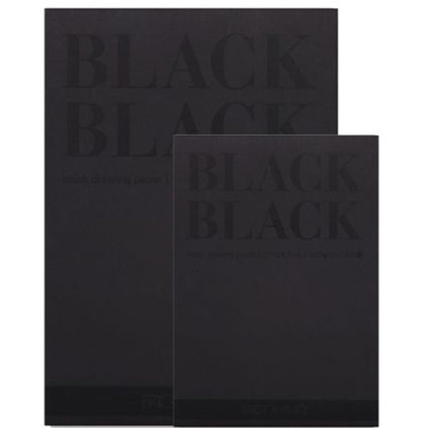 Black-Black-and-White-White-Pad-Fabriano-A4&A3