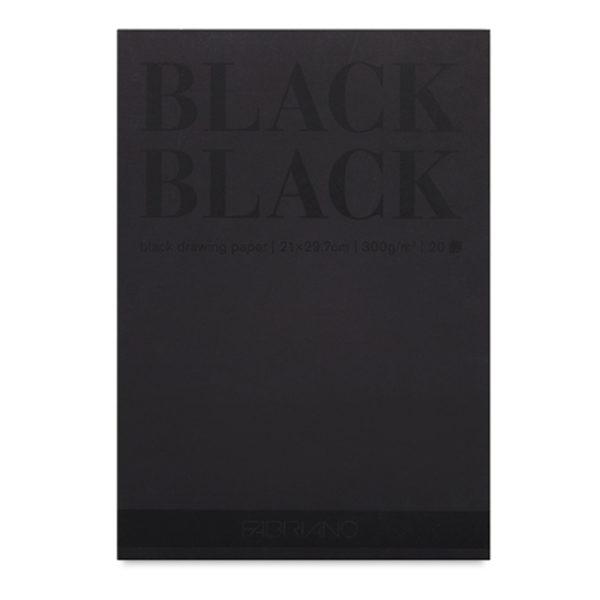 Black-Black-and-White-White-Pad-Fabriano-Single-pad
