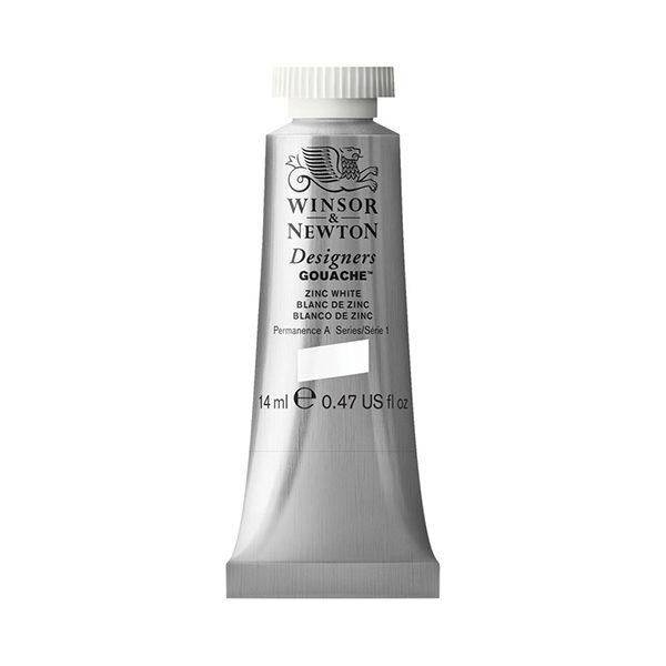 Designers-Gouache-CMYK-Mixing-Set-of-5-Winsor & Newton-White