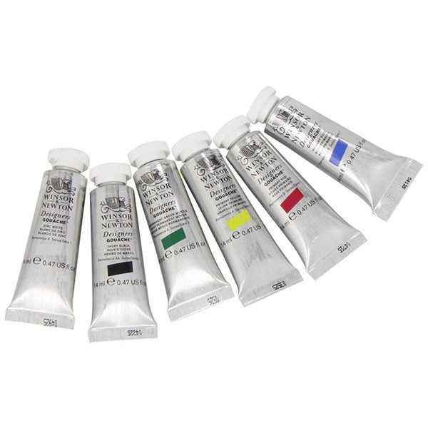 Designers-Gouache-Primart-Set-of-5-Winsor&Newton-Colours