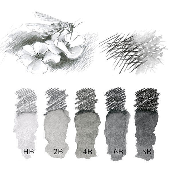 Faber-Castell-Graphite-Aquarelle-Single-Pencil-hardness