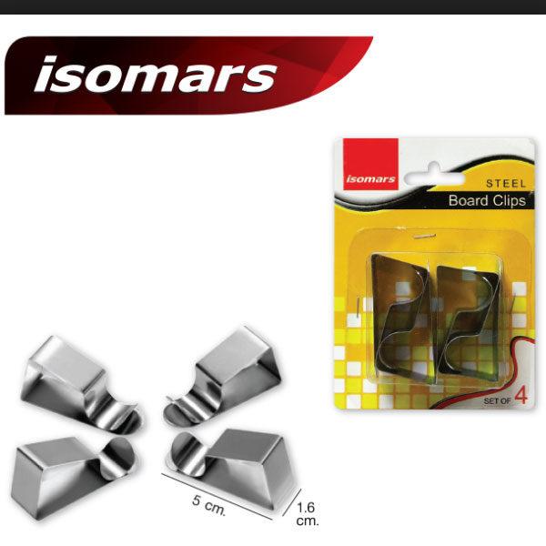 Isomars-Steel-Board-Clips-Prime-Art