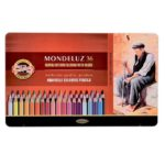 Mondeluz-Aquarelle-Coloured-Pencils-set-of-36-Koh-I-Noor