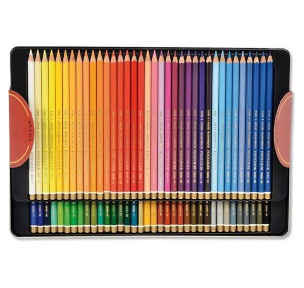 Polycolour-Artist-Coloured-Pencils-Koh-I-Noor-Set-of-72-Inside