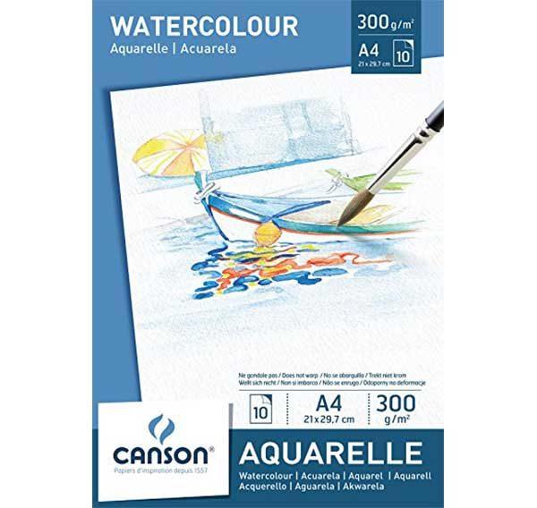 Watercolour-Aquarelle-Paint-Pad-A4-Canson