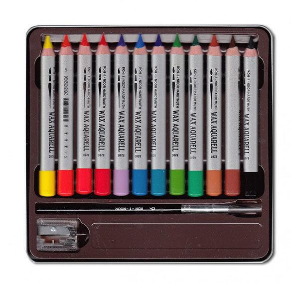 Wax-Aquarell-Watercolour-Crayons-Koh-I-Noor-Inside