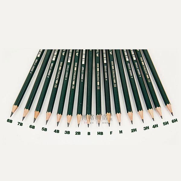 faber-castell-9000-single-pencil-variations
