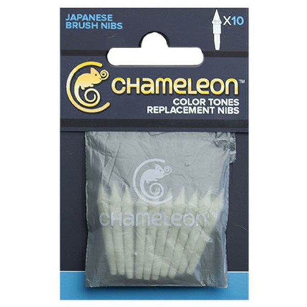 Color-Tones-Replacement-Brush-Nibs-Set-of-10-Chameleon