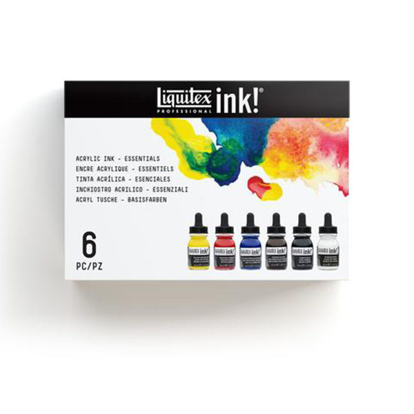 Essential-Ink-Set-of-6-Liquitex