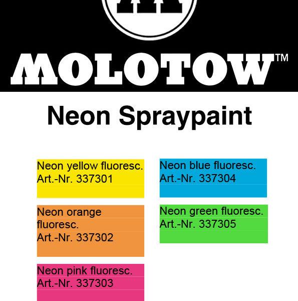 Molotow-URBAN-FINE-ART-Neon-Spray-Colour-Chart