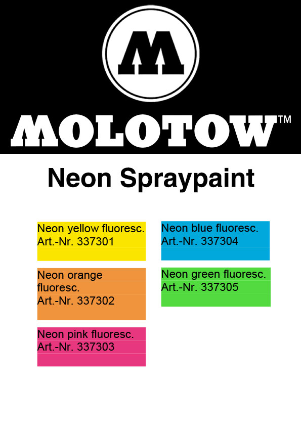 Molotow-URBAN-FINE-ART-Neon-Spray-Colour-Chart