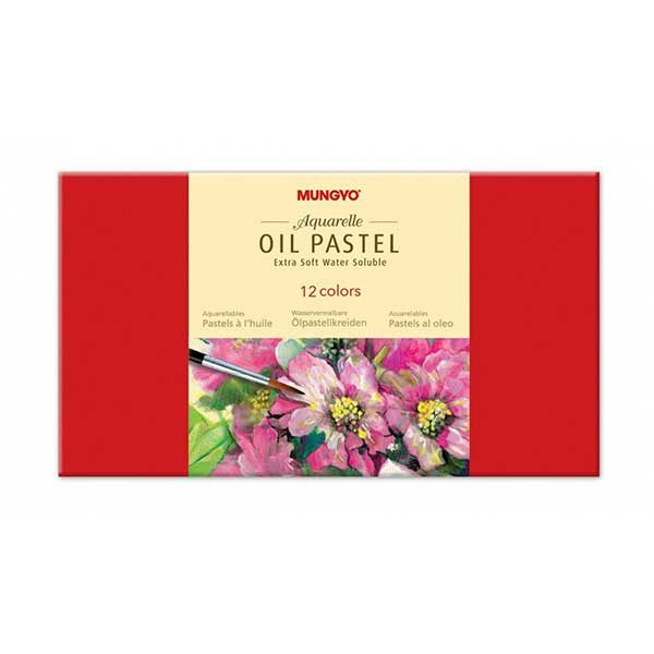 Aquarelle-Oil-Pastel-Extra-Soft-Set-of-12-Mungyo