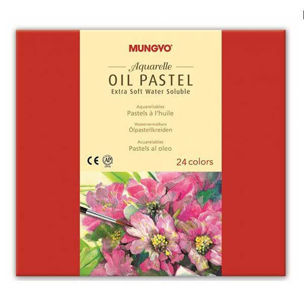 Aquarelle-Oil-Pastel-Extra-Soft-Set-of-24-Mungyo
