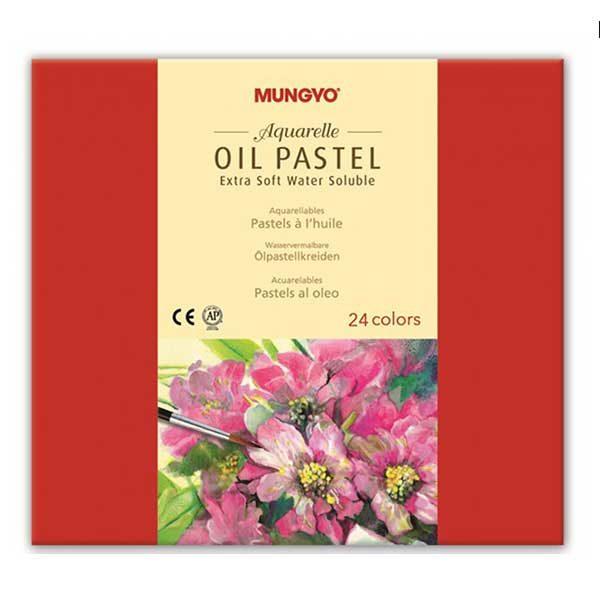 Aquarelle-Oil-Pastel-Extra-Soft-Set-of-24-Mungyo